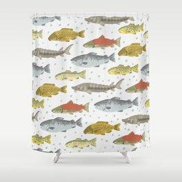 Lake Fishies Shower Curtain