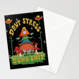 Don't stress! Stationery Cards
