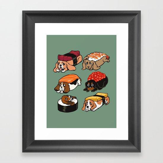 Sushi  Basset Hound by huebucket