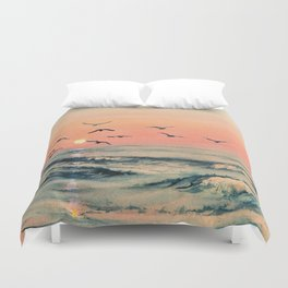 A Place In The World Duvet Cover