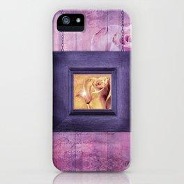 INTERFRAME iPhone Case
