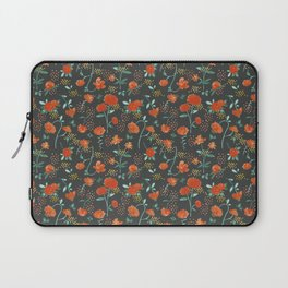 Sweet carnations (dark edition) Laptop Sleeve