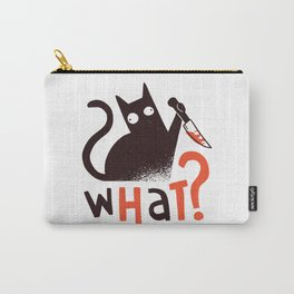 Murder Cat Funny  Carry-All Pouch