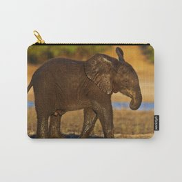 Young african elephant, wildlife Carry-All Pouch