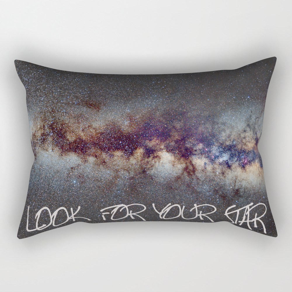 Look For Your Star Rectangular Pillow RPW769169