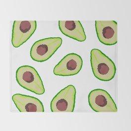 Avocados Throw Blanket