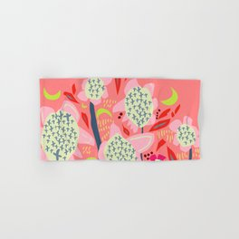 Abstract Floral Sunflowers Sunset Colours  Hand & Bath Towel