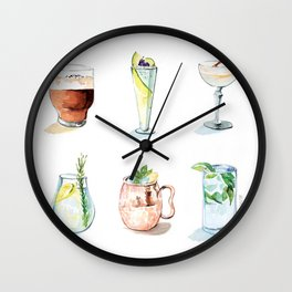 Cocktail season! Wall Clock