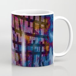 Line and Blue Coffee Mug