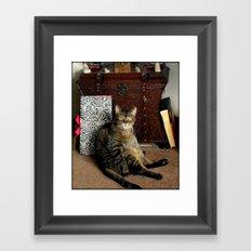 What??? Framed Art Print