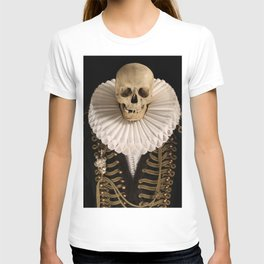 Lord Tudor Skull with ruff T-shirt