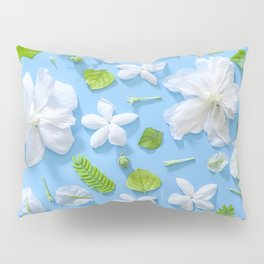 Leaves and flowers pattern (16) Pillow Sham