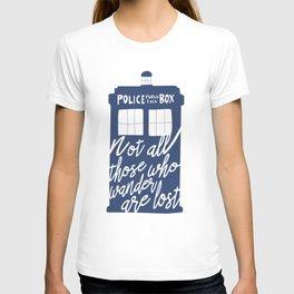 TardiWho T-shirt