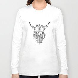 Circuit Board Viking  Long Sleeve T-shirt