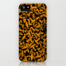Cluster of Tetrapods (COLORS 2.2) iPhone Case
