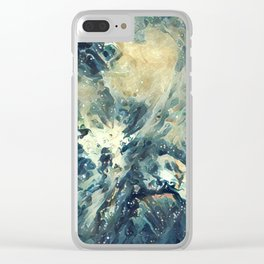 ALTERED Sharpest View of Orion Nebula Clear iPhone Case