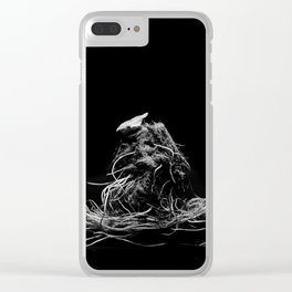Lettuce root Clear iPhone Case