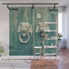 Be Bold Enough To Knock Wall Mural