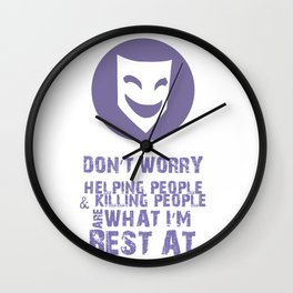 What I'm Best At V2 Wall Clock