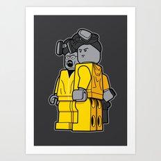 Bricking Bad Art Print