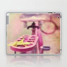 I Rode My Bicycle Past Your Window Last Night Laptop & iPad Skin