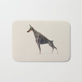 Doberman Bath Mat