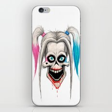 harley quinn iPhone & iPod Skin