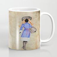 russia Mugs featuring Russia by Dany Delarbre