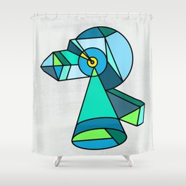 ROBO Shower Curtain