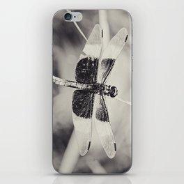 Dragonfly II mono iPhone Skin