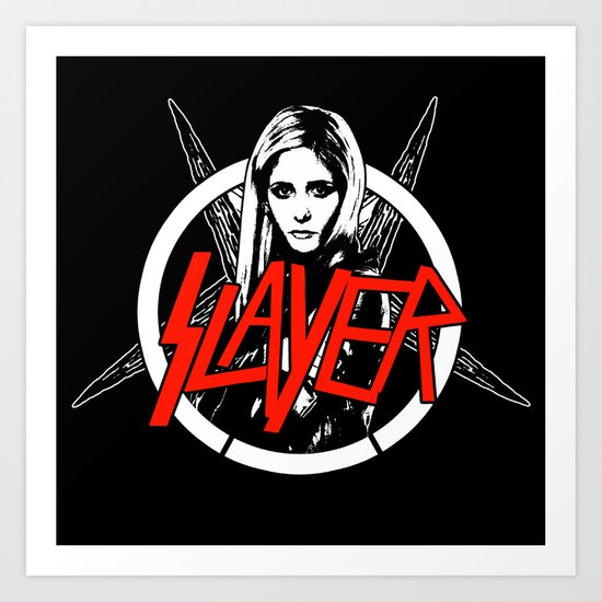 Vampire Slayer Art Print