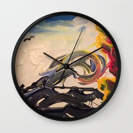 Waves of chaos Wall Clock