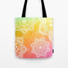 wotercolor mandala Tote Bag