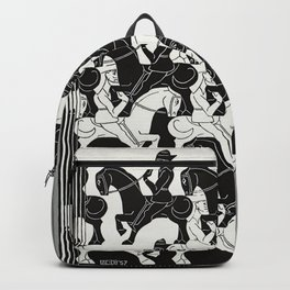 M. Escher - Horses Backpack