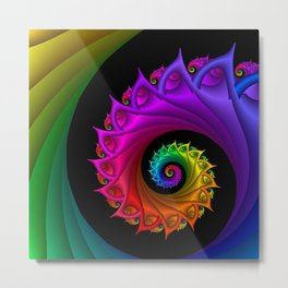 life is colorful -3- Metal Print