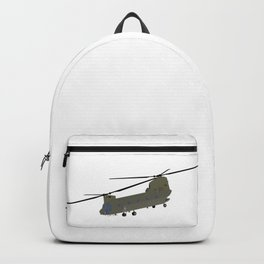 Military CH-47 Chinook Helicopter Backpack