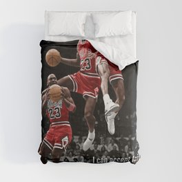 MichaelJordan quote Comforters