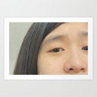 freckled 1 Art Print