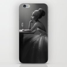 Even Princesses get the Blues iPhone Skin