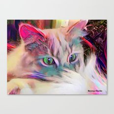 Dreaming of a Sunny Spot Canvas Print