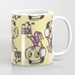 emo frightened disco buyer Coffee Mug