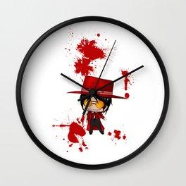 Chibi Alucard 3 Wall Clock