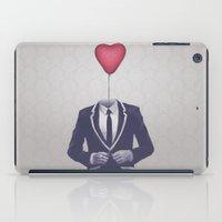 valentine iPad Cases featuring Mr. Valentine by Davies Babies