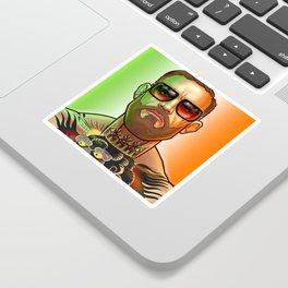 The Notorious Sticker