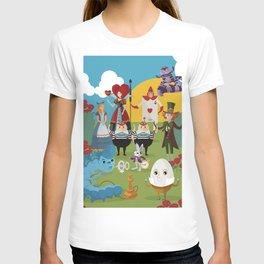 alice in wonderland collection T-shirt