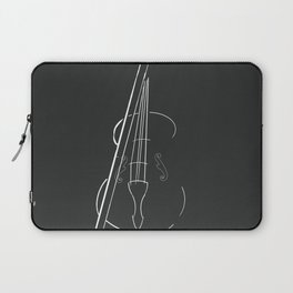 Violin Outline | Drawing Laptop Sleeve
