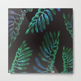 green nature at nigth Metal Print