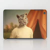 camp iPad Cases featuring Summer camp by Martine Roch