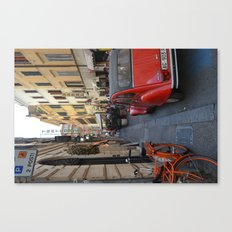Streets of Rome Canvas Print