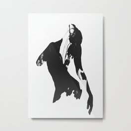 Beautiful Movement Metal Print